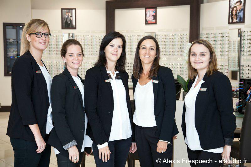 Shooting pour Optical Center : boutiques, équipes, portraits